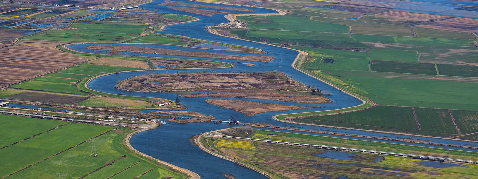 river delta channels